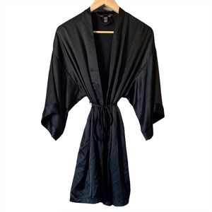 Victoria's Secret silky wide sleeve robe